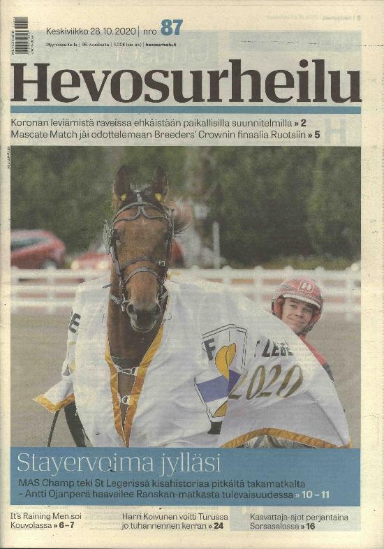 Hevosurheilu keskiviikko