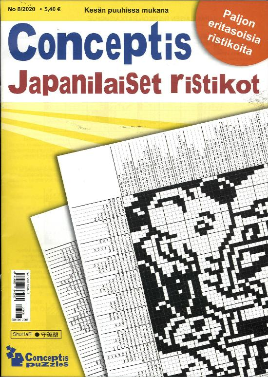 Conceptis Japanilaiset Ristikot