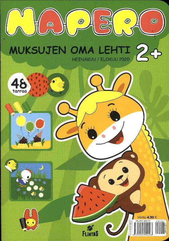 Napero HEINÄKUU / ELOKUU 2020 Muksujen oma lehti