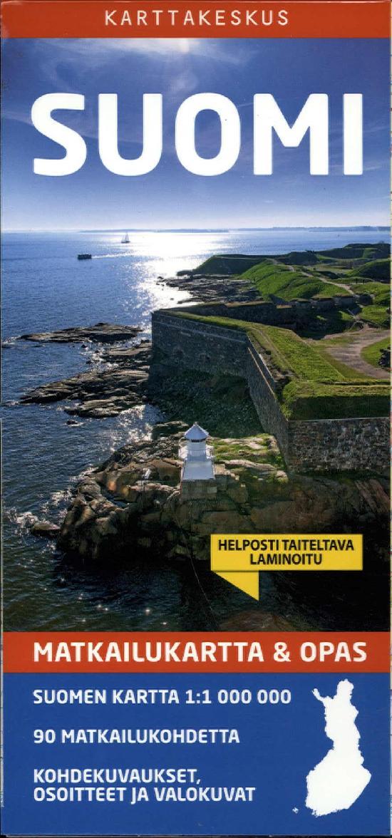 Matkailukartta & Opas Suomi 2020