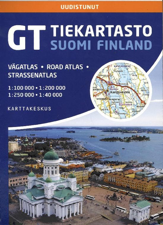 GT Tiekartasto Suomi 2020