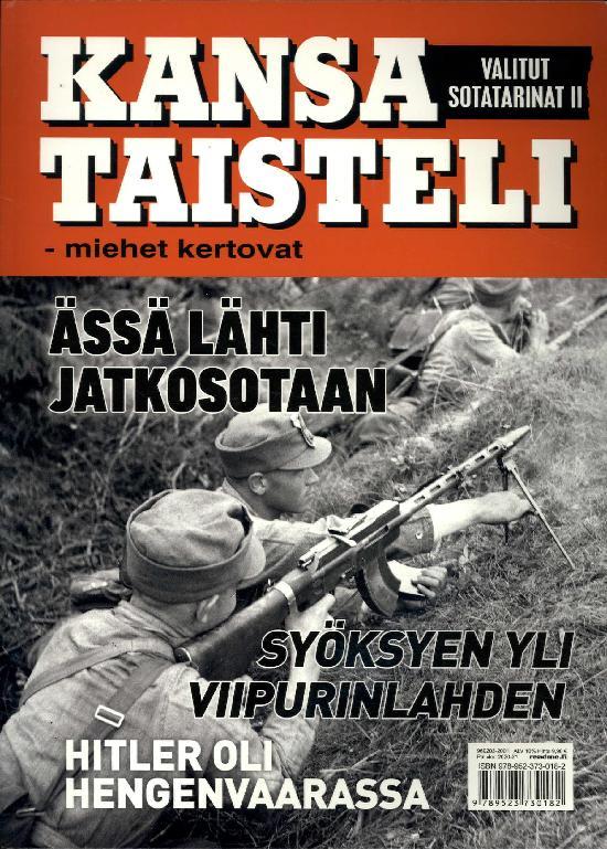Kansa Taisteli - Miehet Kertovat 1/2020 Valitut sotatarinat