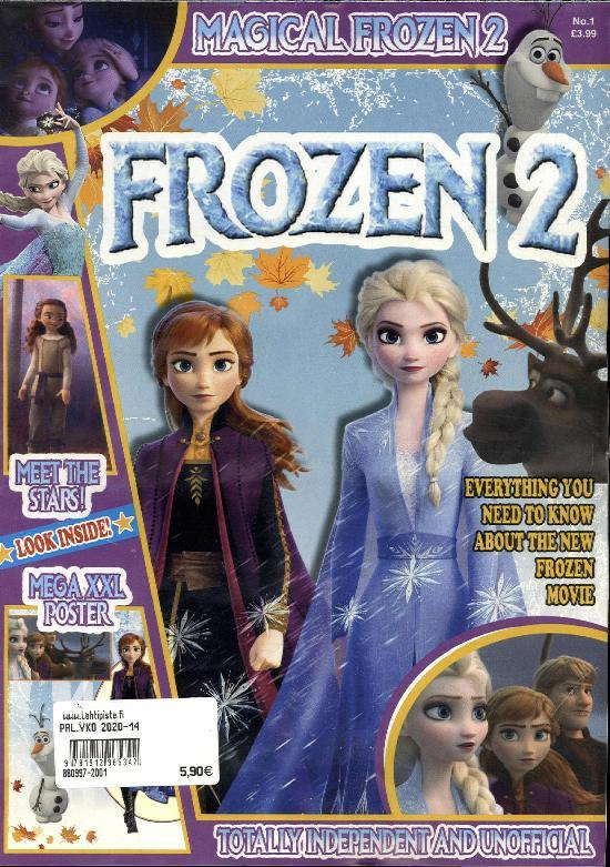 Frozen 2 Poster Magazine