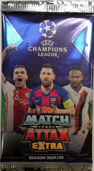 Champions League Match Attax Extra -keräilykortit SEASON 2019/20