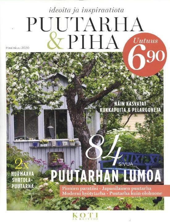 Puutarha & Piha Maaliskuu 2020 Ideoita ja inspiraatiota