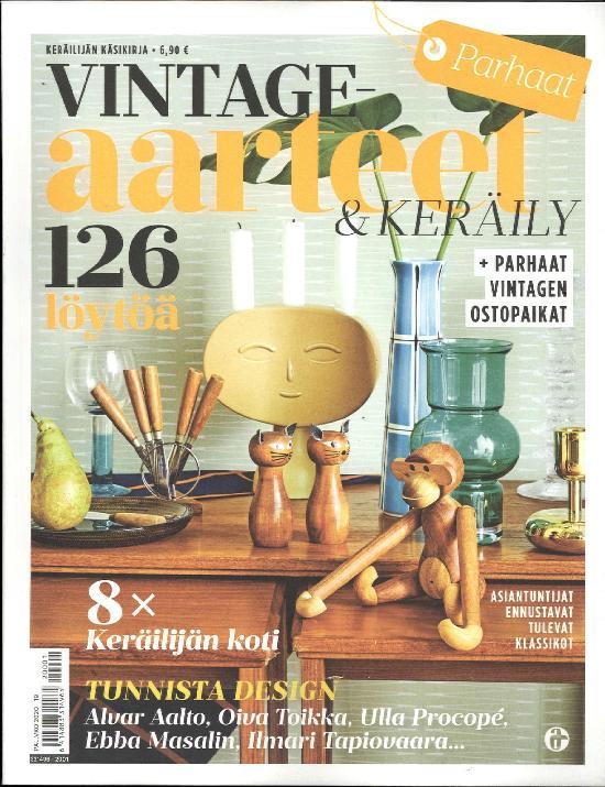 Parhaat Vintage-aarteet & Keräily 1/2020 KERÄILIJÄN KÄSIKIRJA