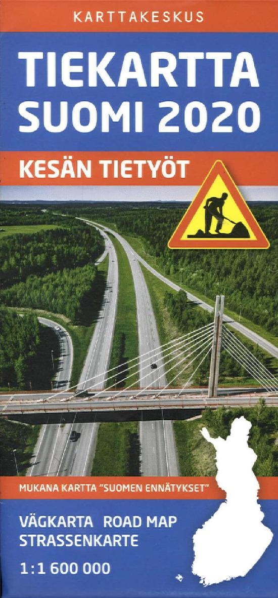 Tiekartta Suomi 2020