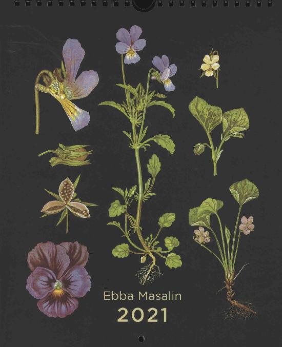 Ebba Masalin: Seinäkalenteri 2021