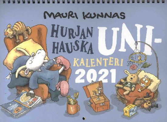 Mauri Kunnas:Hurjan Hauska Unikalenteri 2021