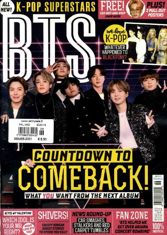 K-POP Superstars BTS