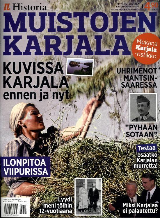 Iltalehti Teema Historia Muistojen Karjala