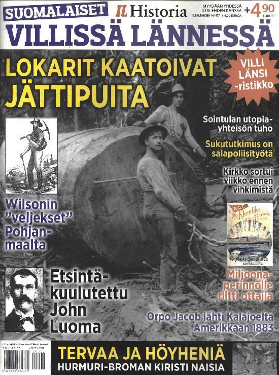 Iltalehti Teema Extra Suomalaiset Villissä Lännessä