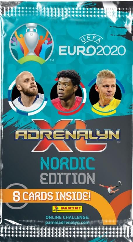 Euro 2020 Adrenalyn XL -keräilykortit 1/2020 Nordic Edition