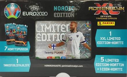 Euro 2020 Adrenalyn XL -lahjalaatikko 1/2020 Nordic Edition
