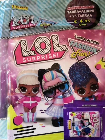 L.O.L. Surprise! Fashion Fun -aloituspakkaus (tarrat) 1/2020