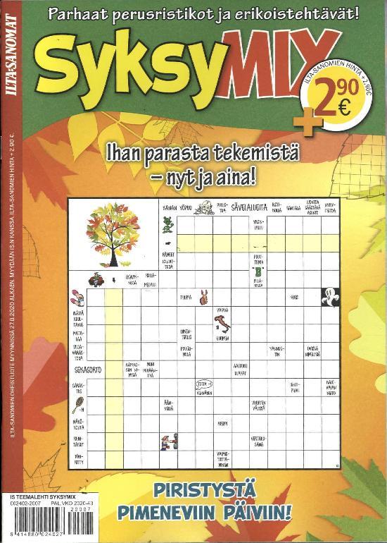 Ilta-Sanomat Teemalehti SyksyMIX 2020