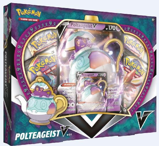 Pokemon keräilykortit -lahjalaatikko V Box