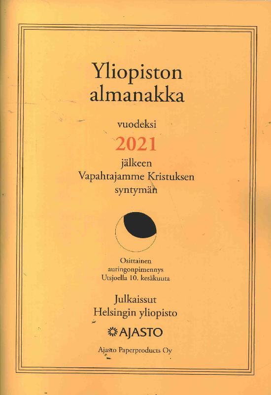 Yliopiston Almanakka (A4) 2021