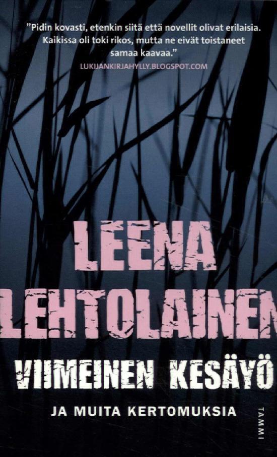 Lehtolainen, Leena: Viimeinen kesäyö