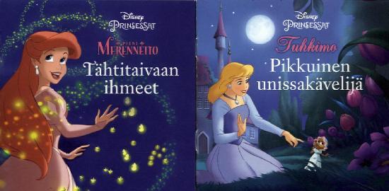 Disney Minikirjat Pikkuinen unissakävelijä / Tähtitaivaan ihmeet