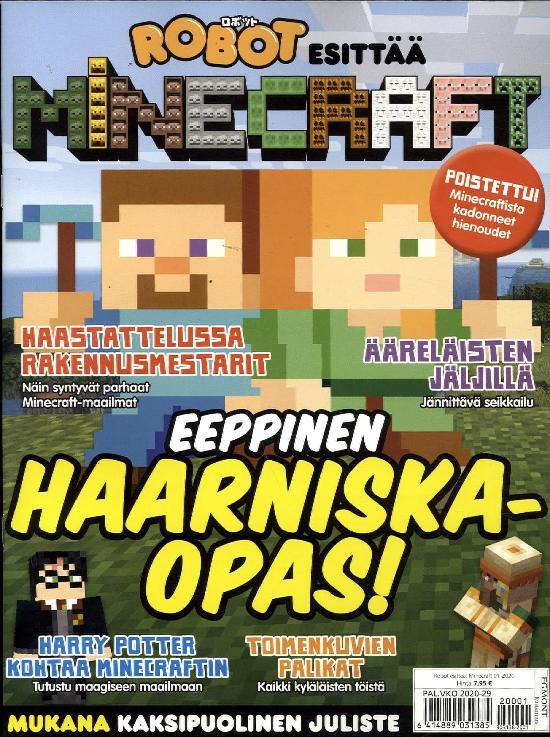 Robot esittää: Minecraft 01-2020
