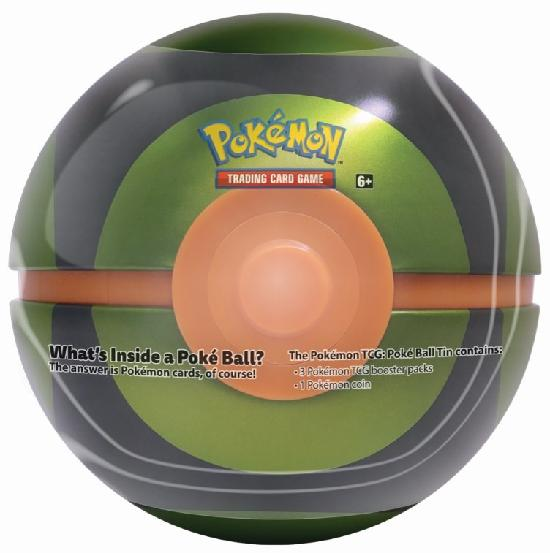 Pokemon Poke Ball Tin -pallo 2020 2002