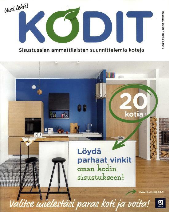 Kodit - 20 kaunista kotia 2001