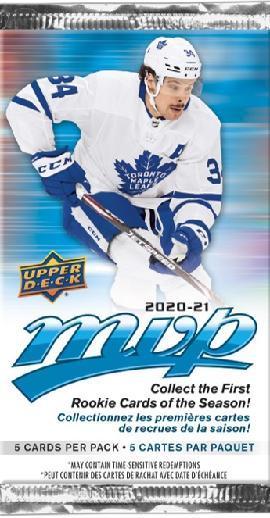 Upper Deck MVP NHL -keräilykortit 2001