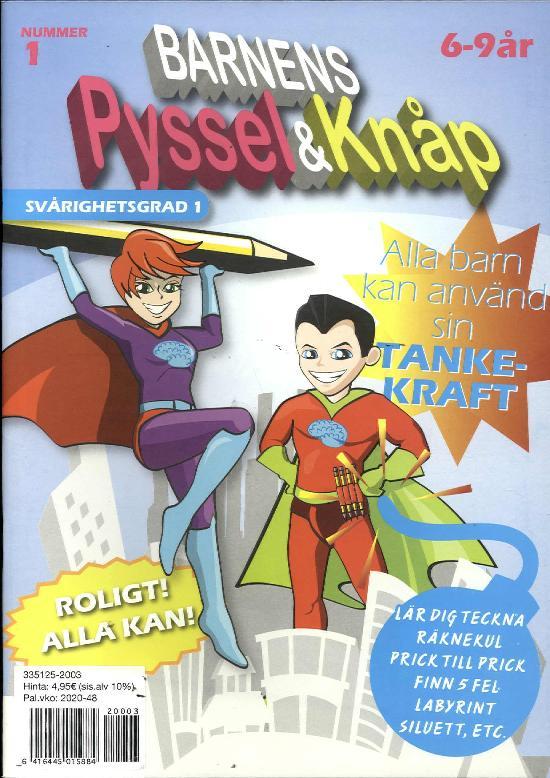 Barnens pyssel & knåp 2003