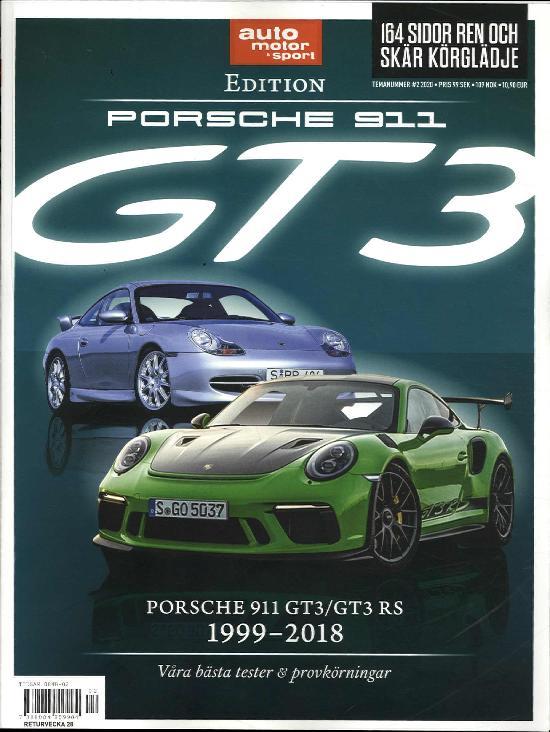 Auto Motor & Sport (Swe) TEMANUMMER #2 2020 Porsche 911 GT 3