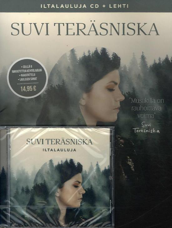 WM Parhaat Suvi Teräsniska Iltalauluja cd + lehti