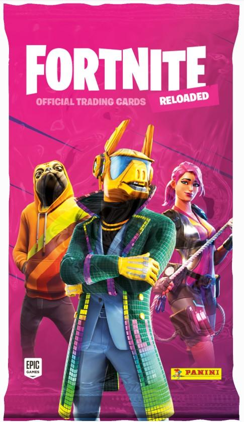 Fortnite 2 -keräilykortit Official Trading cards Reloaded 1/2020