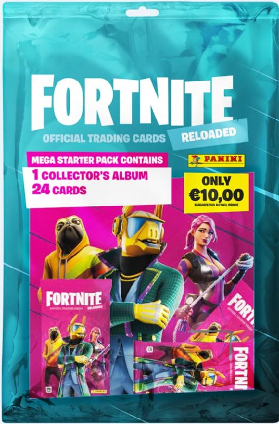 Fortnite 2 -aloituspakkaus (kortit) Official Trading Cards Reloaded 1/2020