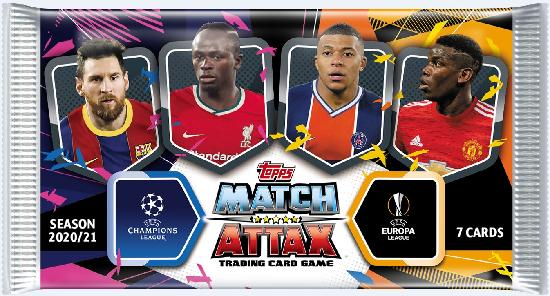 Champions League Match Attax -keräilykortit