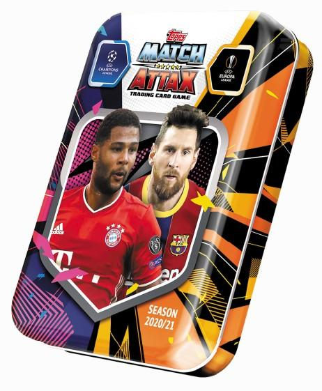 Champions League Match Attax mini tin 2001