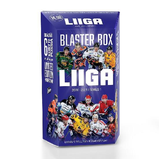 Cardset Liigakortit 1. sarja Blaster Box 2020-2021