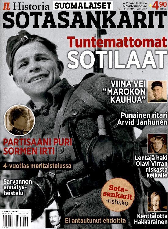 Iltalehti Teema Historia Suomalaiset sotasankarit