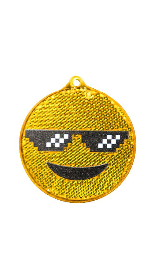 So Bright -heijastin, Thug Life Emoji oranssi 2001