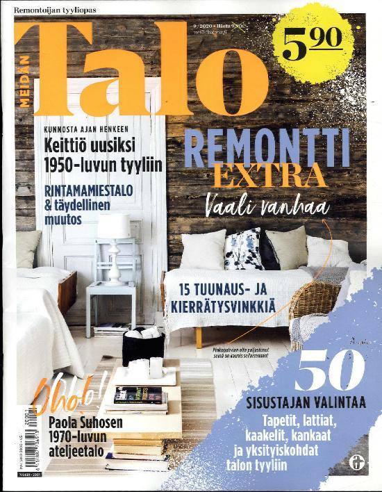 Meidän Talo Remonttiekstra 9/2020 Remontoijan tyyliopas