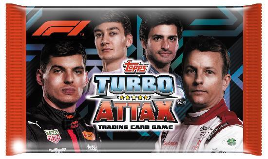F1 Turbo Attax -keräilykortit 1/2020