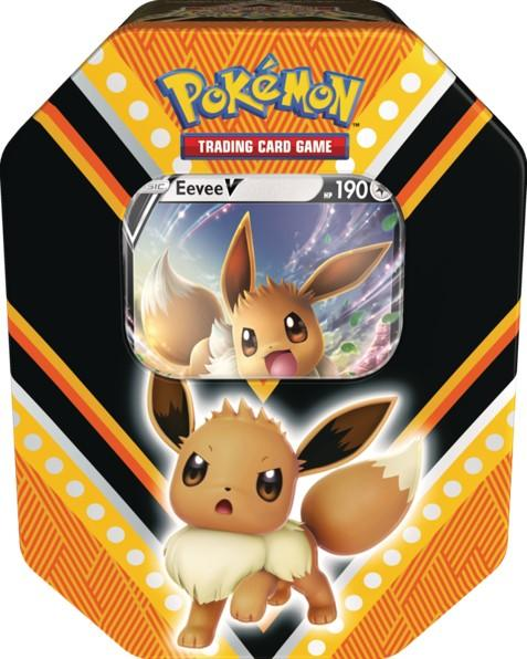 Pokemon V Powers Tin -rasia 1/2020