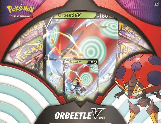 Pokemon keräilykortit -lahjalaatikko Orbeetle V Box