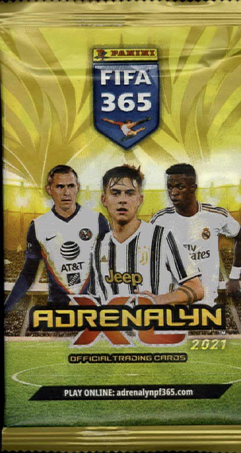 Panini FIFA 365 Adrenalyn XL -jalkapallokortit 1/2021