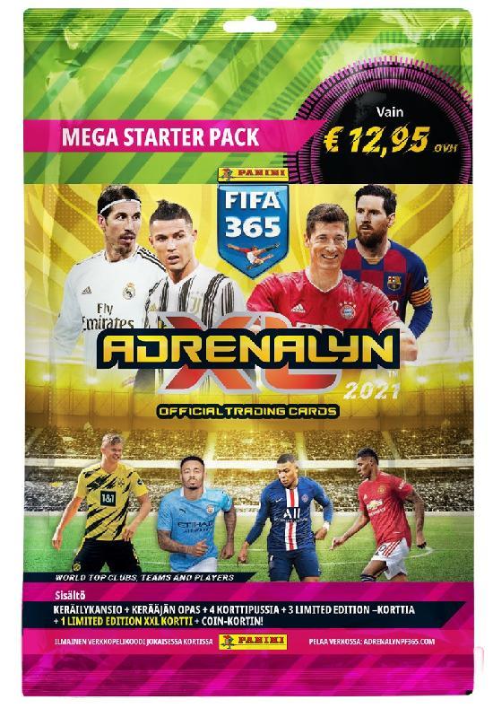 Panini FIFA 365 Adrenalyn XL -aloituspakkaus (jalkapallokortit)
