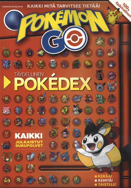 Pokemon Go Peliopas TÄYDELLINEN POKEDEX Kaikki mitä tarvitsee tietää!