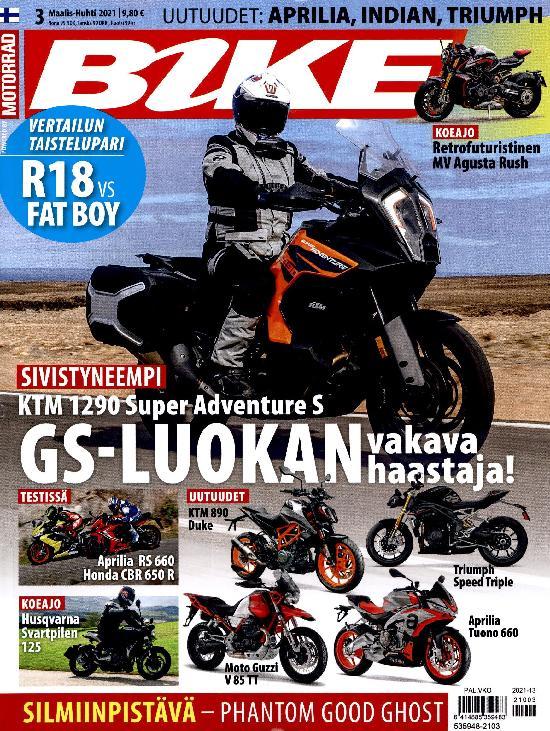 Bike (suom) powered by Motorrad