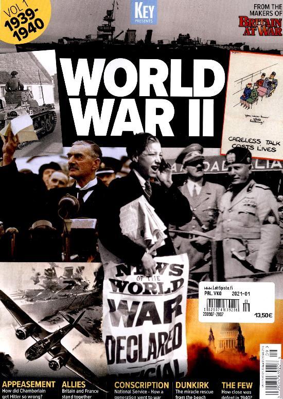 Military History Bookazines (Key Publishing) 2007