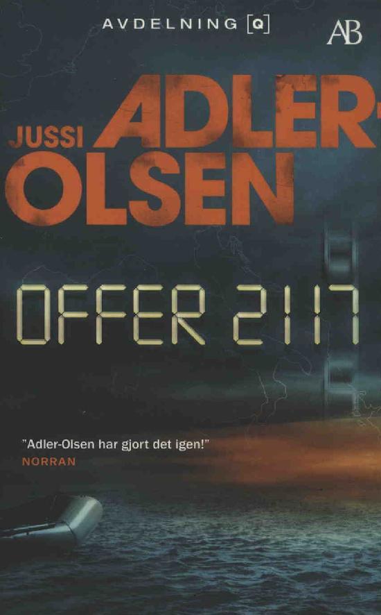 Adler-Olsen, Jussi: Offer 2117