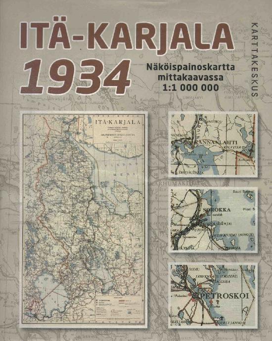 Historialliset Kartat, Suomi Itä-Karjala 1935