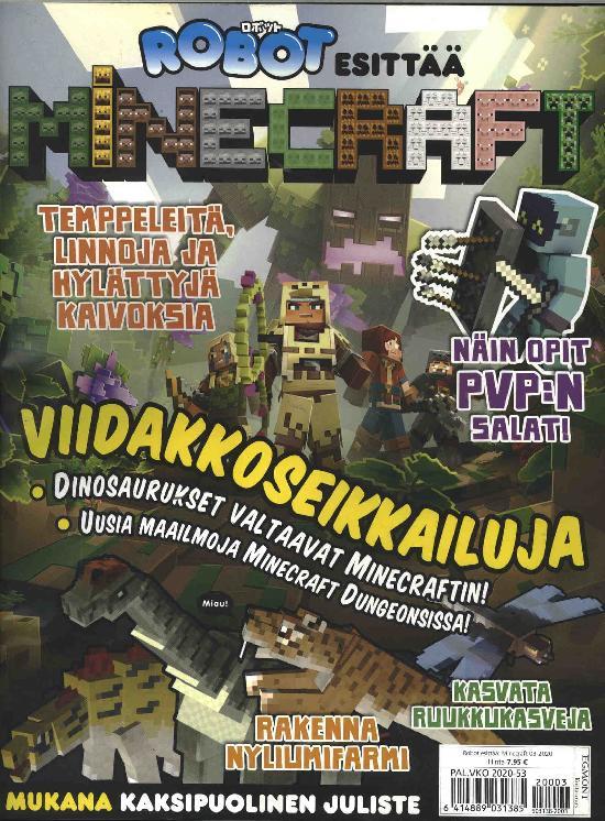 Robot esittää: Minecraft 2003